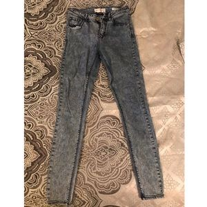 High rise skinny jeans from PAC Sun.